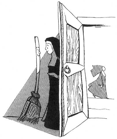 Bernadette y la escoba