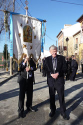Frank participa, en Baeza,en un encuentro de todas las Hermandades de San Isidro de España