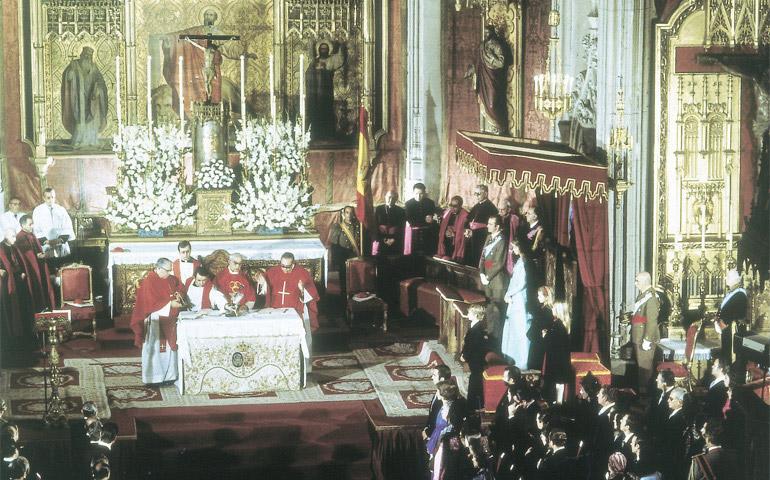 Misa de entronización de Juan Carlos I