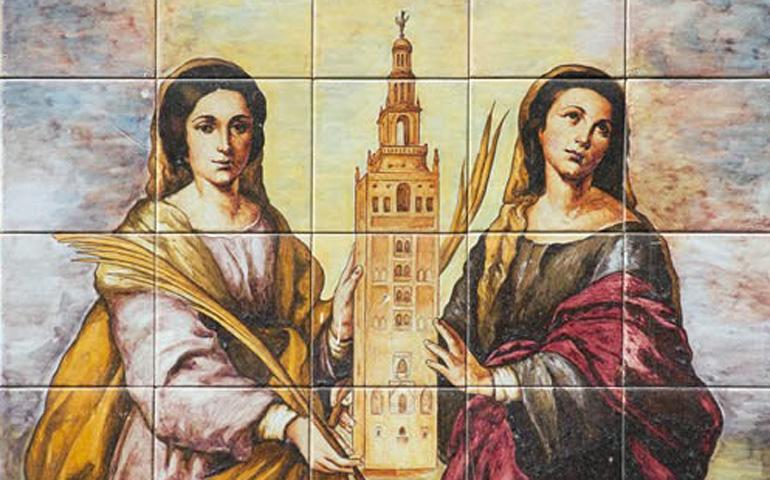 La Iglesia Conmemora Este Sabado A Las Santas Justa Y Rufina
