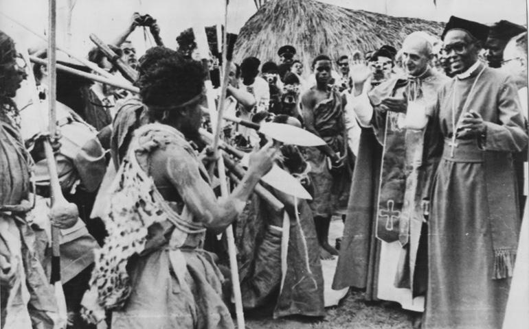 Pablo VI en Uganda