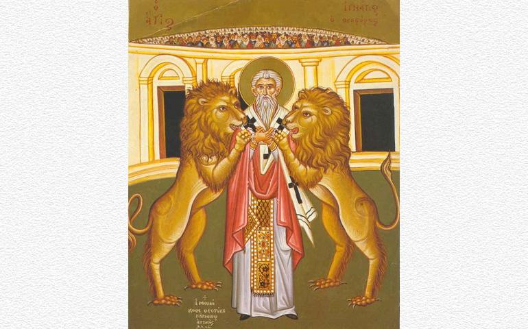 17 de octubre: san Ignacio de Antioquía, obispo y mártir   Alfa y ...