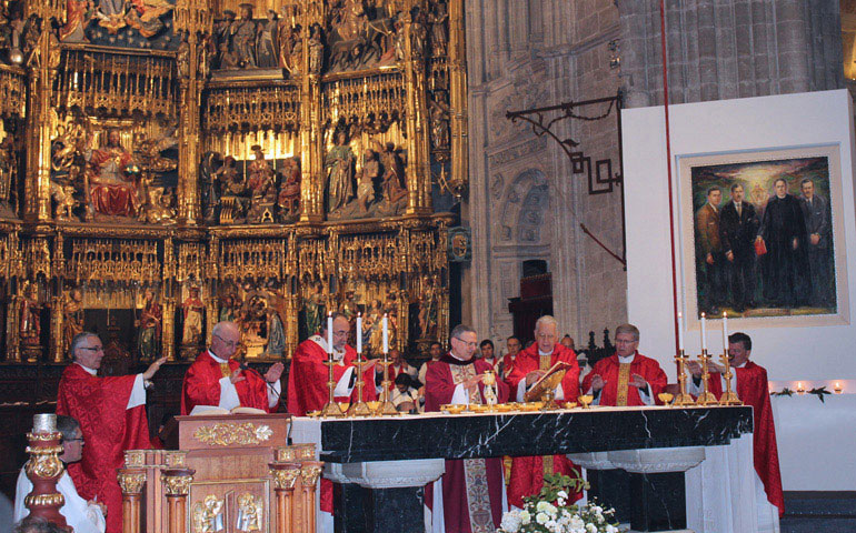 Beatificación seminaristas en Oviedo
