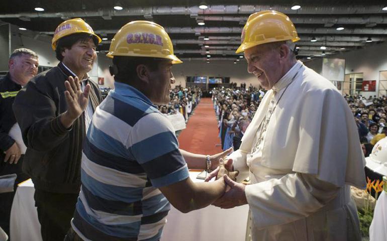 El Papa obrero