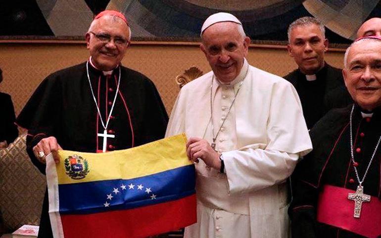 El Papa y el cardenal Porras