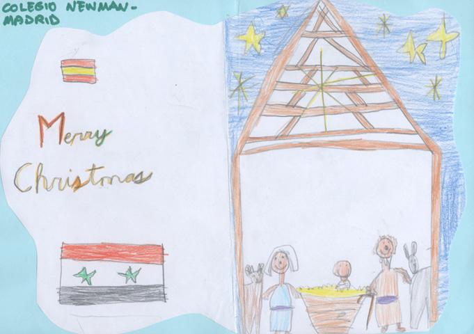 Adrián, 7 años, colegio John Henry Newman (Madrid)