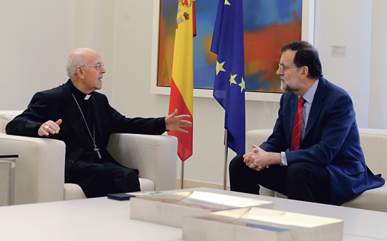 Blázquez, con Rajoy