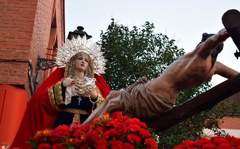 Resultado de imagen de procesion  SANTISIMO CRISTO DEL PERDON DE VALLECAS madrid