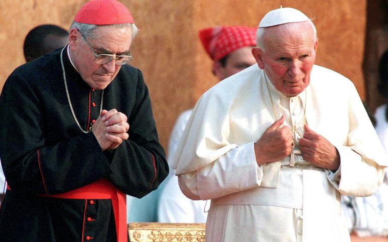 Juan Pablo II y Lustiger