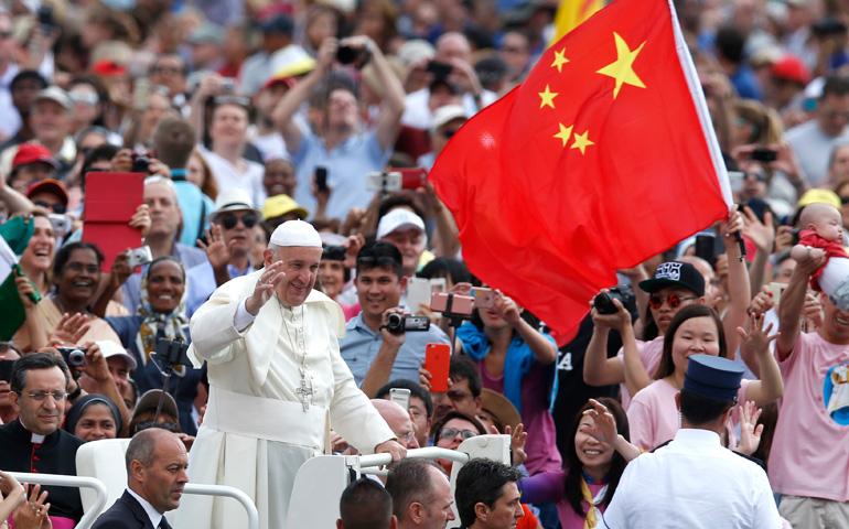 El Papa y China