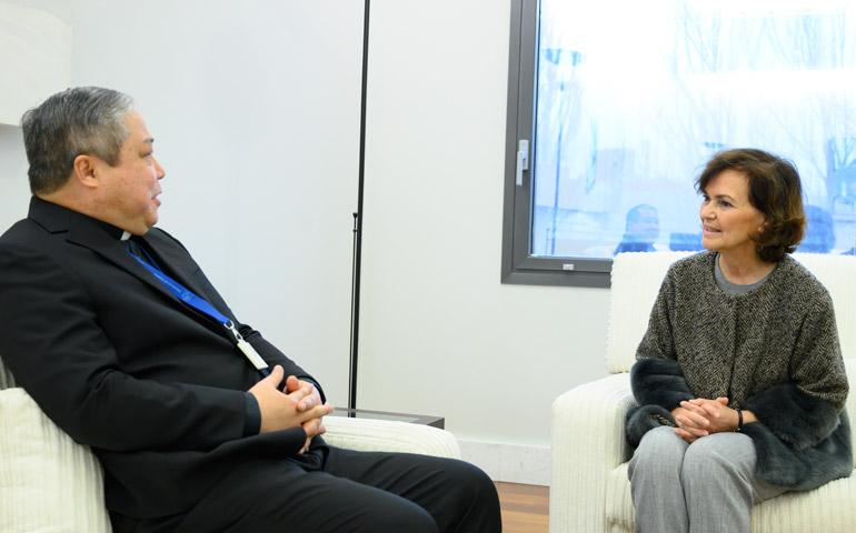Carmen Calvo y el nuevo nuncio muestran su disposición a continuar con la  agenda en materia religiosa - Alfa y Omega