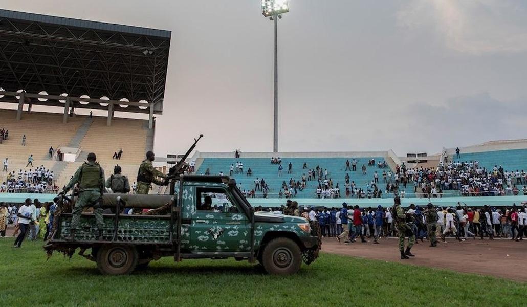 Elecciones en República Centroafricana