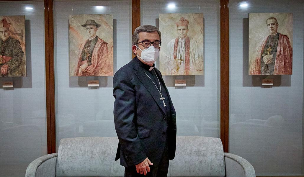 Luis Argüello posa para Europa Press