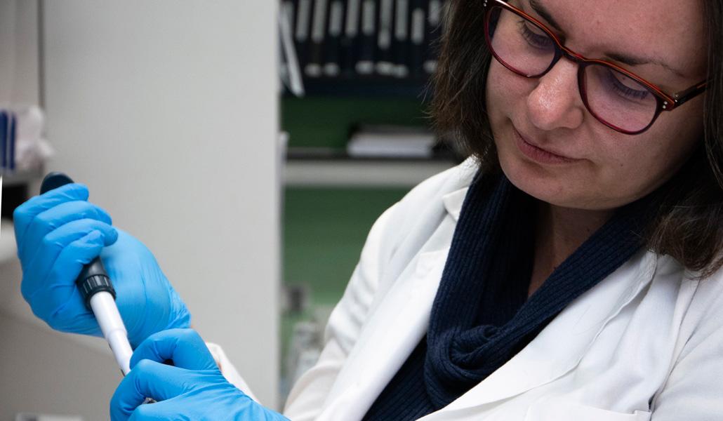 Investigadora de la vacuna en el CSIC