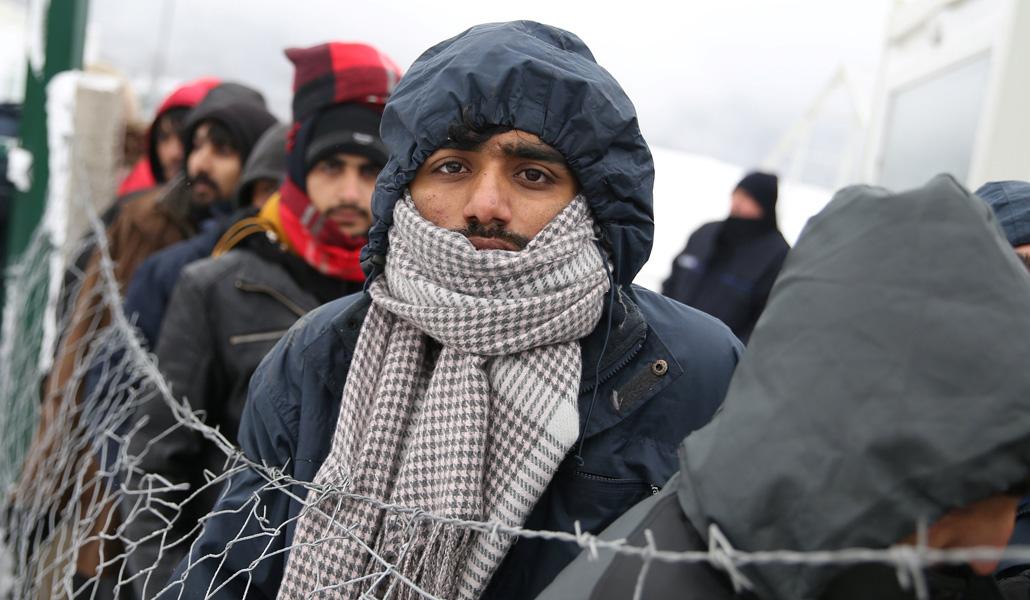 Migrantes en Bosnia