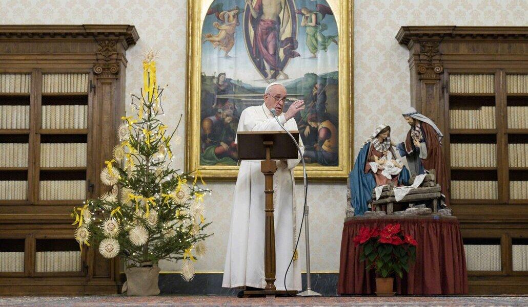 Papa en el ángelus