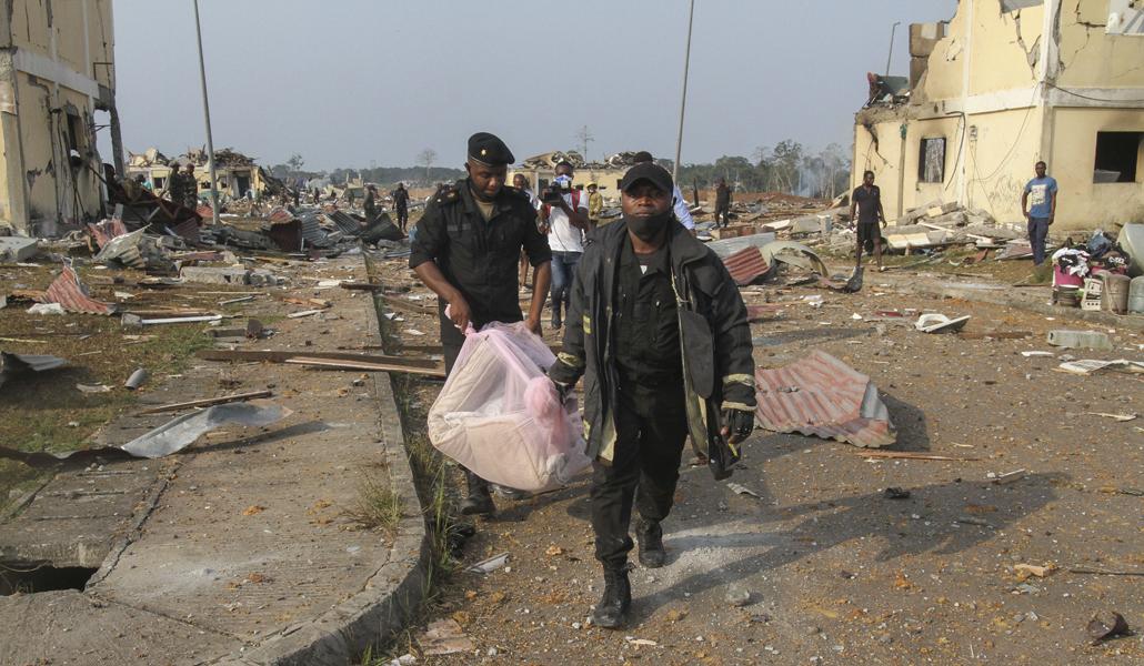Víctimas en Bata (Guinea Ecuatorial)