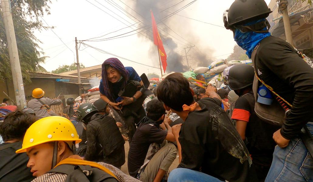 Represión en Myanmar