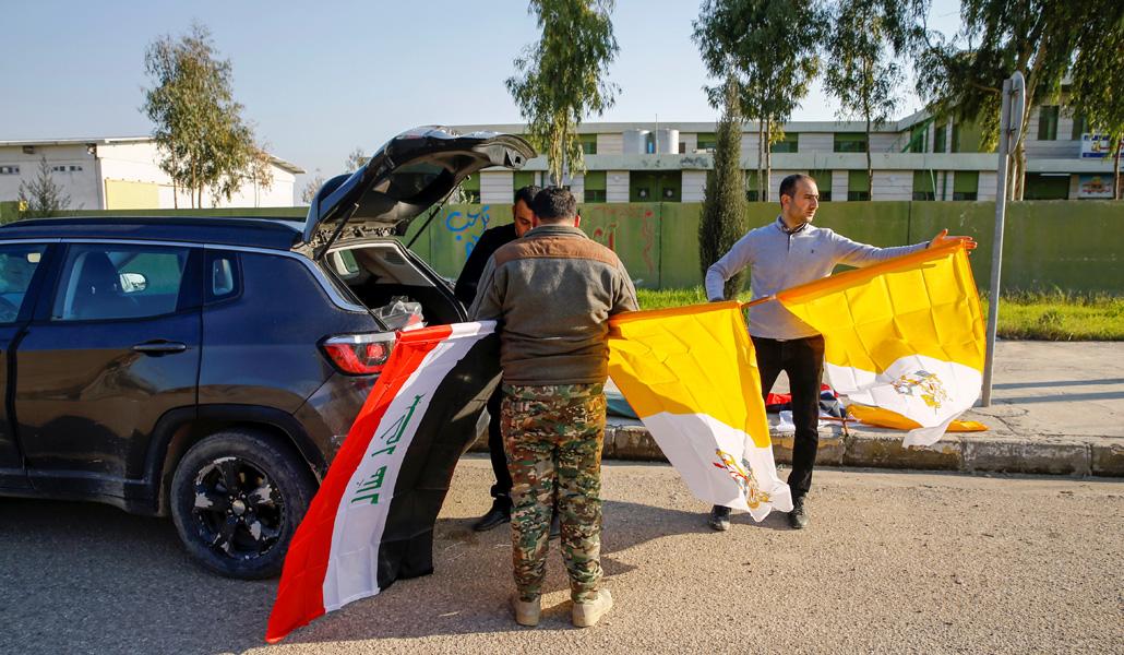 Preparativos de la visita del Papa a Irak