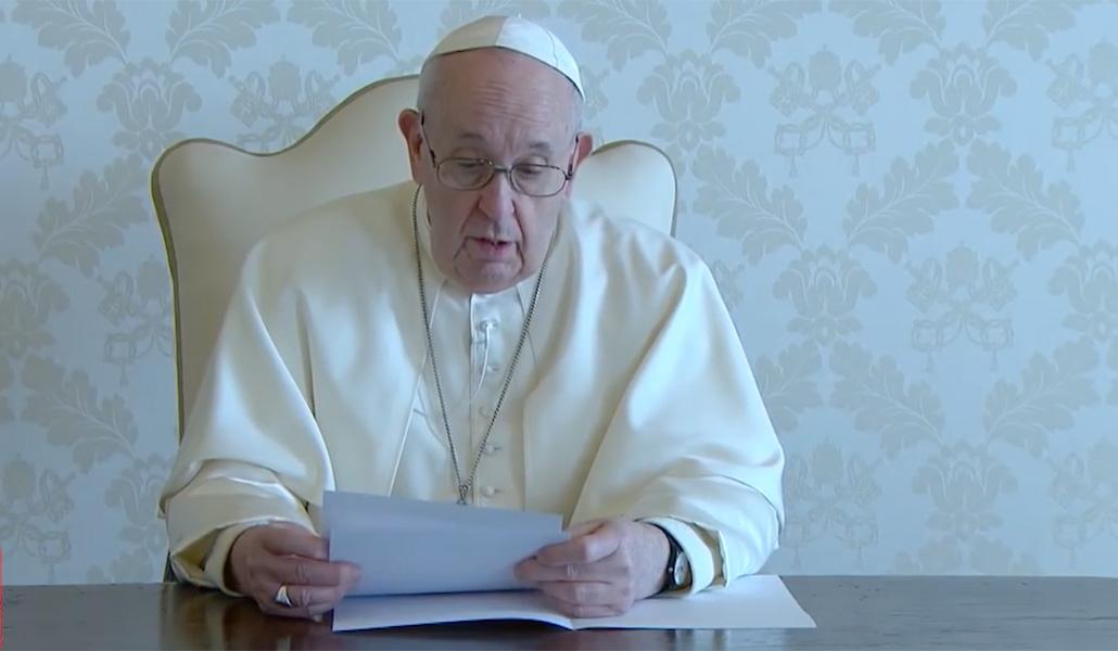 Videomensaje del Papa a Irak