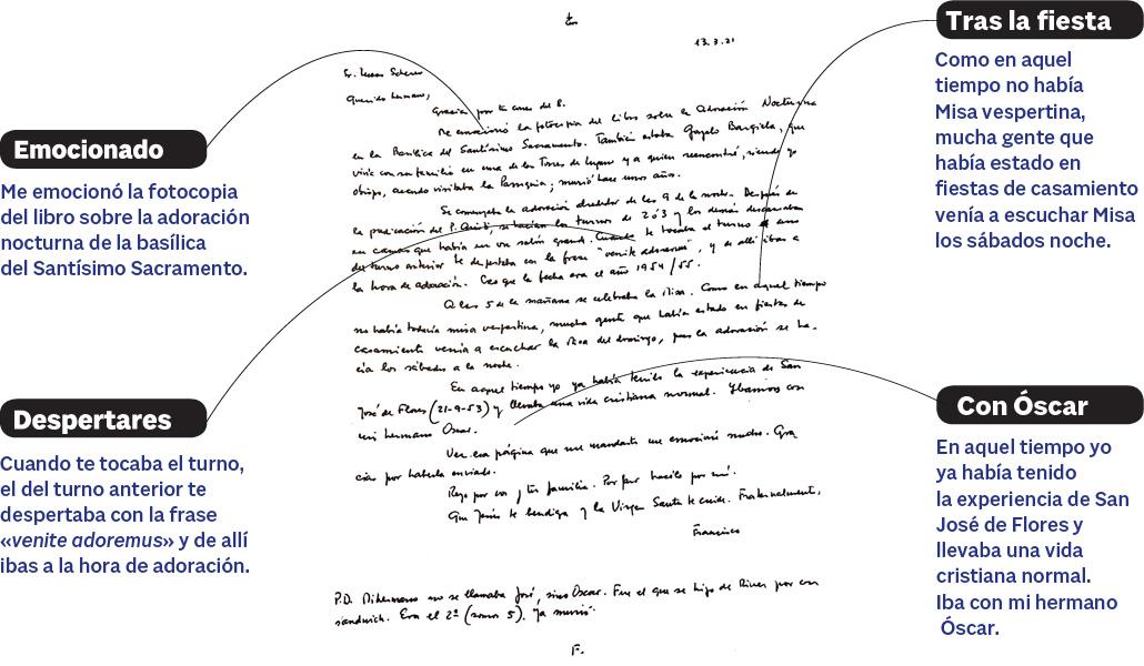 Carta del Papa a Alfa y Omega