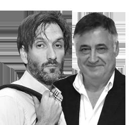 Gervasio Sánchez y Ricardo García Vilanova