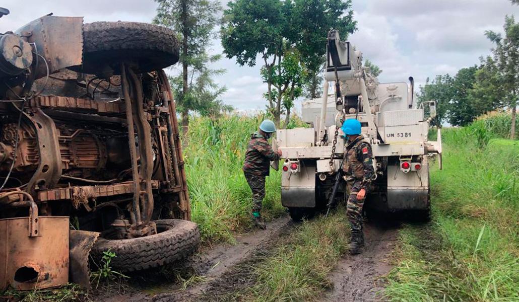 Misión de la ONU en RD Congo