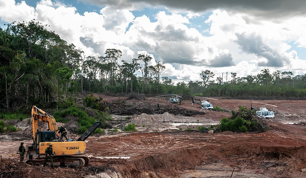 Acaparamiento y deforestación de tierras en Brasil