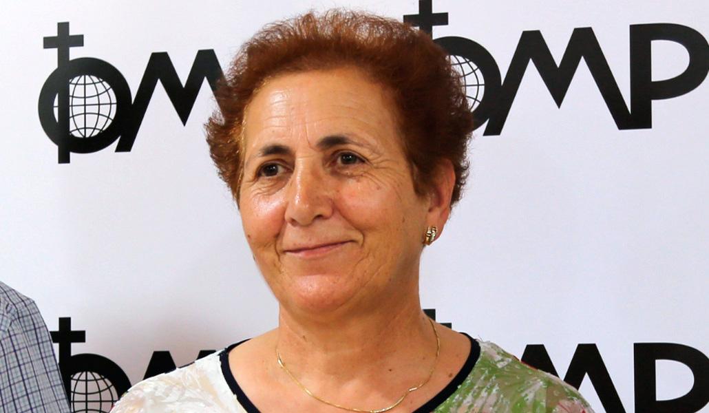 Josefa Ledo: «Los misioneros me han enseñado a vivir»