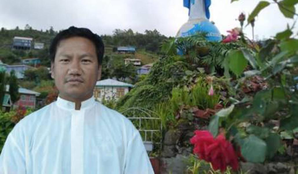Sacerdote detenido en Myanmar