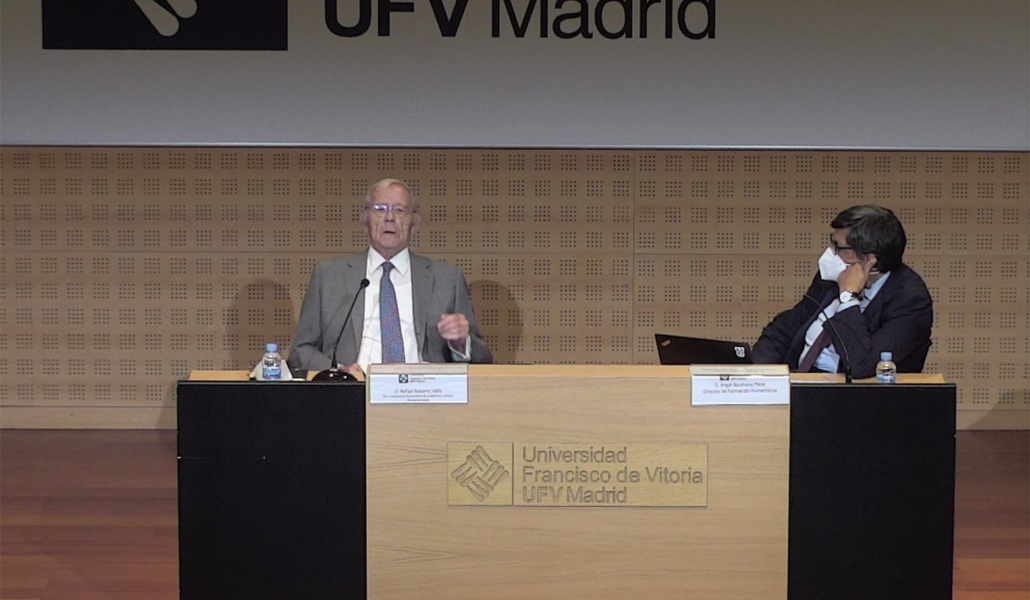Navarro-Valls habló de objeción en la UFV