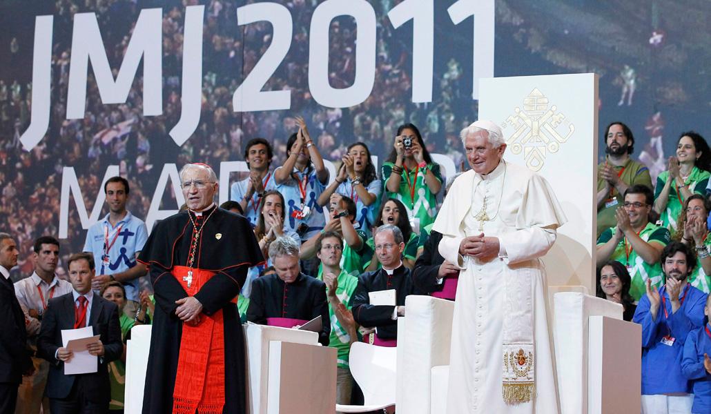 Rouco y Ratzinger, hace diez años