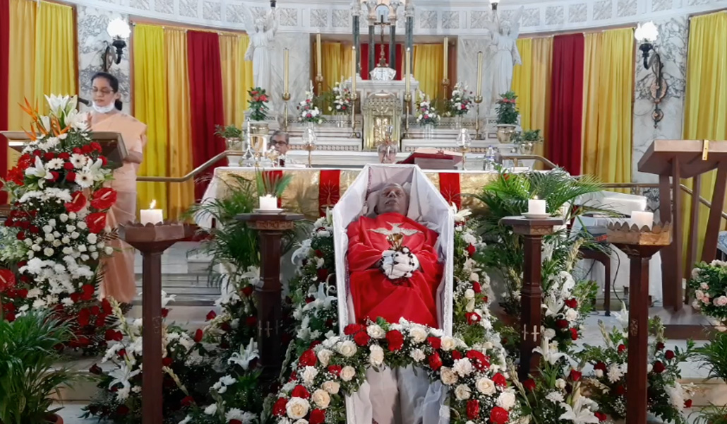 Funeral por Stan Swamy
