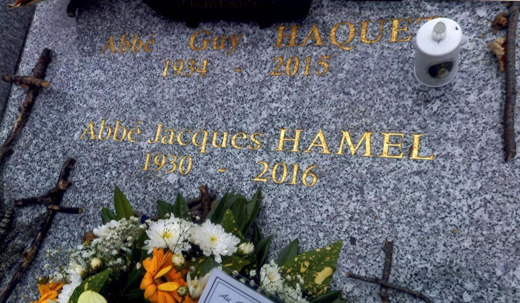 Tumba de Jacques Hamel