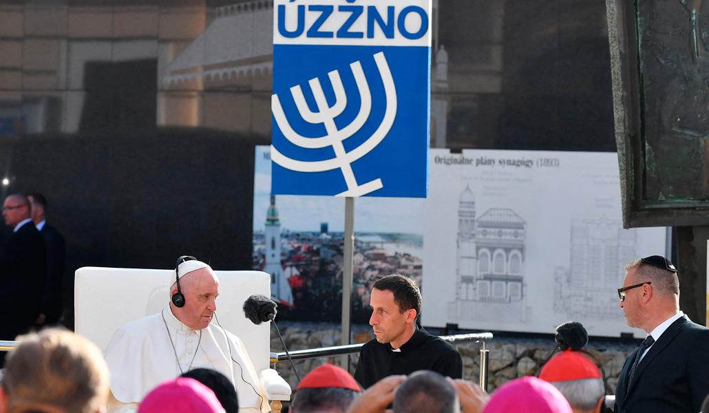 Encuentro del Papa con representantes judíos