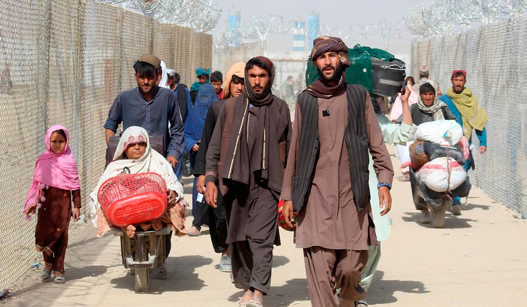Refugiados Afganistán